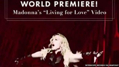 Photo of Madonna fait sa promotion sur Snapchat Discover