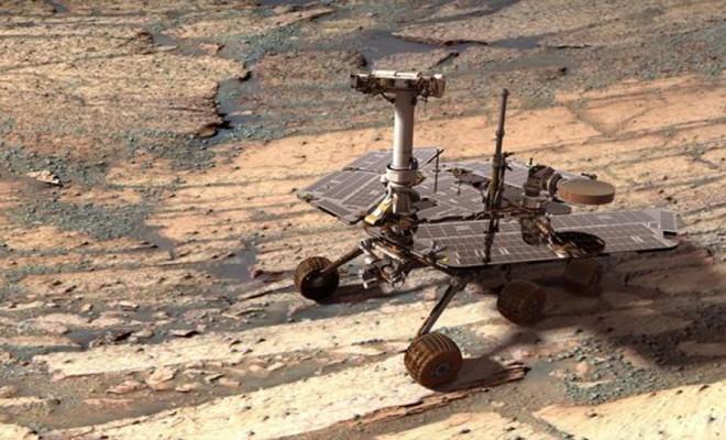 Mars : 11e anniversaire d'Opportunity 1