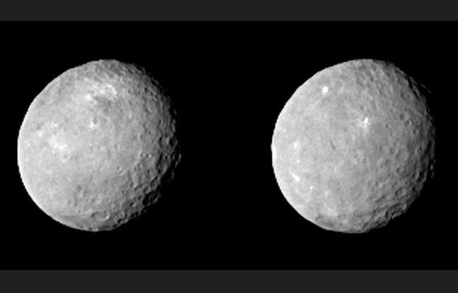 nasa la sonde dawn propose deux photos inedites de ceres