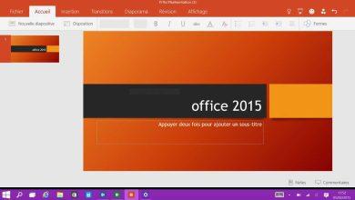 Photo de Enfin les previews des applications tactiles d'Office pour Windows 10