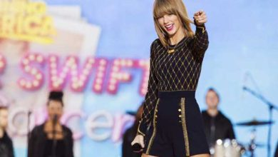 Photo de Photo nue : Taylor Swift se moque du chantage de son pirate
