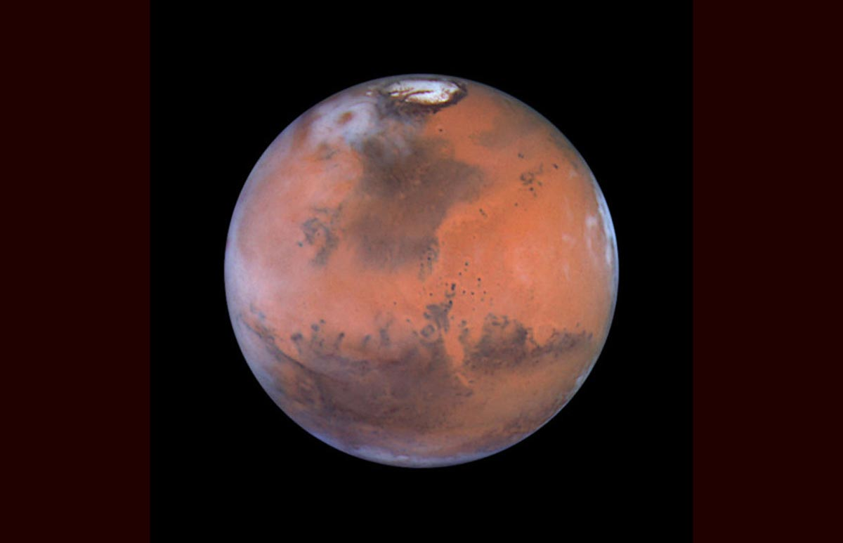 17. Photographie de Mars (Photo : AP/NASA Planetary Photojournal)