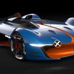 Alpine Vision Gran Turismo : Renault présente un modèle à l'échelle 1:1 28