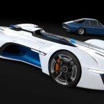 Alpine Vision Gran Turismo : Renault présente un modèle à l'échelle 1:1 11