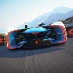 Alpine Vision Gran Turismo : Renault présente un modèle à l'échelle 1:1 7