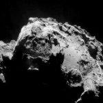 Rosetta va se « blottir » auprès de Tchouri pour la Saint Valentin
