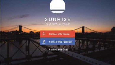 Photo de Microsoft rachète le service de calendrier Sunrise