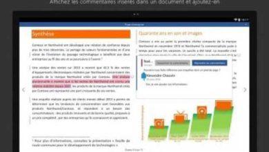 Photo de Word, Excel et PowerPoint arrivent sur les tablettes Android