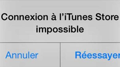 Apple : iTunes et l'App Store en panne
