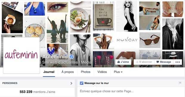 AuFeminin fait le choix des réseaux sociaux