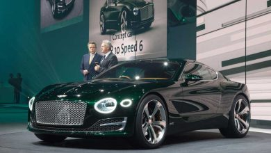 EXP 10 Speed 6 : un concept-car surprise signé Bentley