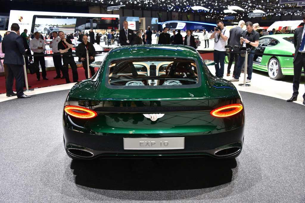 EXP 10 Speed 6 : un concept-car surprise signé Bentley