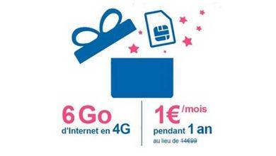 Photo of Bouygues Telecom : 6 Go d'internet mobile pour 1 €/mois