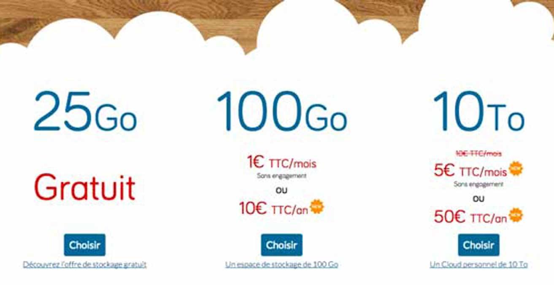 hubiC : OVH casse les prix de son offre de cloud personnel