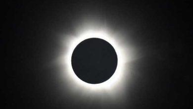 Eclipse solaire en Australie.
