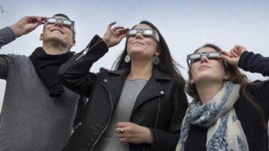 Photo de Éclipse solaire : les lunettes se font rares