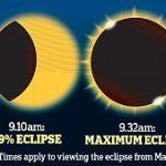 Êtes-vous prêt à observer l'éclipse solaire du vendredi 20 mars ?