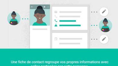 Gmail : Google repense la gestion des contacts