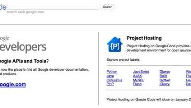Photo de Google annonce la fermeture du répertoire open source Google Code