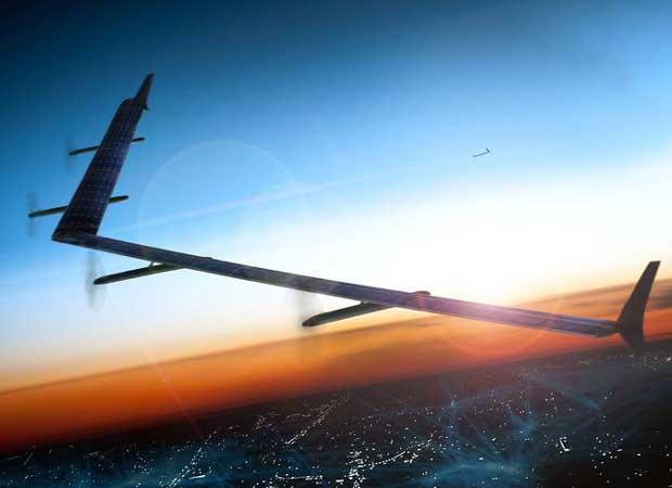 Internet.org : premier test réussi pour un drone relais solaire 1