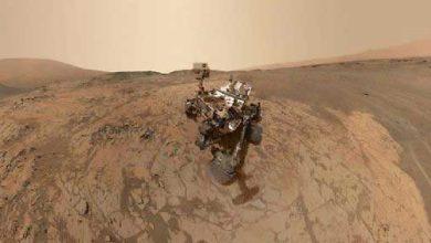 Photo de Mars : détection d'azote indispensable à la vie
