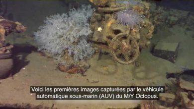 Photo de Musashi : découverte de l'épave du plus puissant navire de guerre de l'Histoire