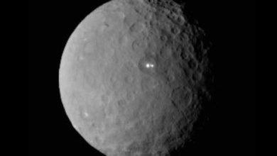 NASA : deux mystérieuses taches brillantes sur Cérès