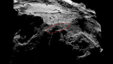 Photo de Rosetta tente de reprendre contact avec Philae