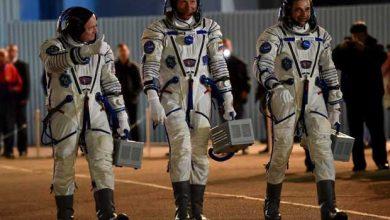 Photo de Soyouz : en route pour passer une année à bord de l'ISS