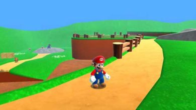 Photo de Super Mario 64 HD : le premier niveau en HD !
