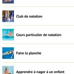 Application pour nageurs : Coach Nage passe en version 1.2