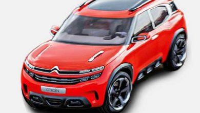 Photo de Aircross : une première image du nouveau SUV de Citroën