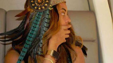 Photo de Apple Watch : un modèle en or sur mesure pour Beyoncé