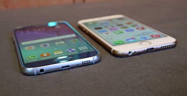 Galaxy S6 vs l'iPhone 6 : le duel en vidéo 1