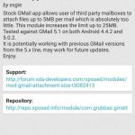 Comment augmenter la taille des pièces jointes dans l'application Gmail ?