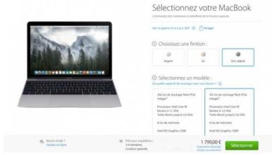 Photo of Le nouveau MacBook Retina est sur l'Apple Store