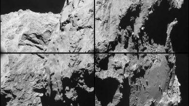 Photo de L'ESA publie d'incroyables images prises par Rosetta