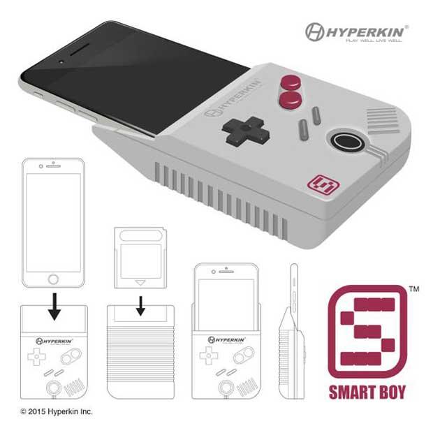 L'iPhone 6-Game Boy : un attelage improbable entre la mythique console portable de Nintendo et le smartphone dernier cri du groupe de Cupertino