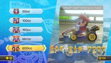 Photo of Mario Kart 8 : une mise à jour gratuite qui apporte le mode 200 cc