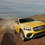 Concept GLC Coupé : Mercedes dévoile un SUV aux allures de coupé