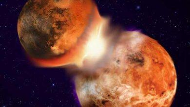 Notre Lune résulterait d'une collision survenue il y a 4,4 milliards d'années