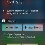 Nouvelles gestuelles pour Chrome pour iOS