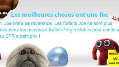 Joe Mobile tire sa révérence