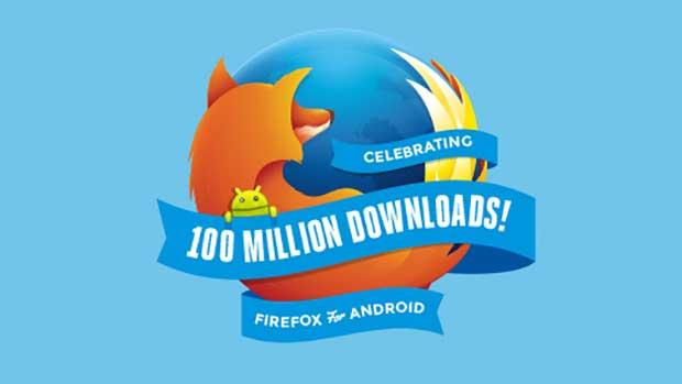 Plus de 100 millions de téléchargements de Firefox pour Android 1