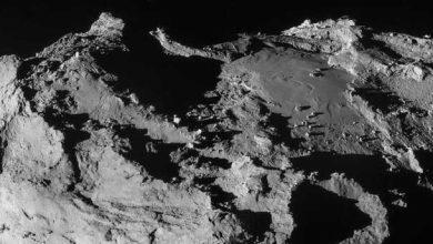 Photo de Rosetta s'est fait aveugler par Tchouri