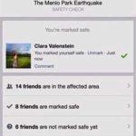 Un exemple de page de sécurité généré par Facebook.