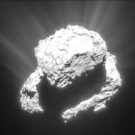 Rosetta : 12 images qui montrent la formation de la queue de la comète