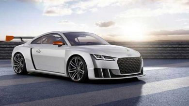 Photo de Audi : le TT clubsport turbo joue les voitures de course