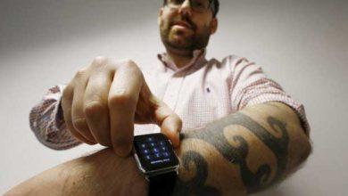 Photo de Apple Watch : incompatible avec les tatouages