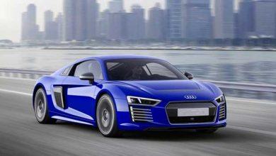 Photo de Audi : le concept d'une R8 électrique et autonome